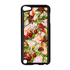 Fruit Blossom Pink Apple Ipod Touch 5 Case (black) by snowwhitegirl