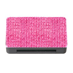 Knitted Wool Bright Pink Memory Card Reader With Cf by snowwhitegirl