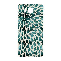 Teal Abstract Swirl Drops Samsung Galaxy Alpha Hardshell Back Case by snowwhitegirl