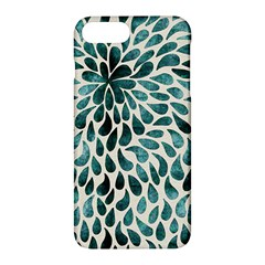 Teal Abstract Swirl Drops Apple Iphone 7 Plus Hardshell Case by snowwhitegirl