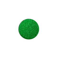 Green Glitter 1  Mini Buttons by snowwhitegirl