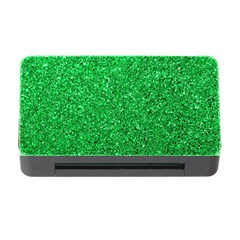 Green Glitter Memory Card Reader With Cf by snowwhitegirl