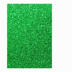 Green Glitter Small Garden Flag (two Sides) by snowwhitegirl
