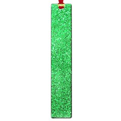 Green Glitter Large Book Marks by snowwhitegirl