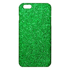 Green Glitter Iphone 6 Plus/6s Plus Tpu Case by snowwhitegirl
