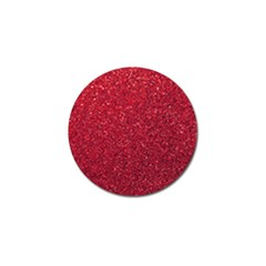 Red  Glitter Golf Ball Marker (4 Pack) by snowwhitegirl