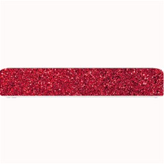 Red  Glitter Small Bar Mats