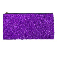 Purple  Glitter Pencil Cases by snowwhitegirl