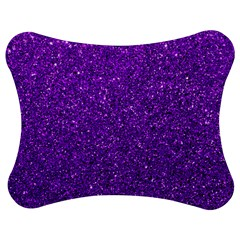 Purple  Glitter Jigsaw Puzzle Photo Stand (bow) by snowwhitegirl