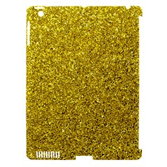 Gold  Glitter Apple Ipad 3/4 Hardshell Case (compatible With Smart Cover) by snowwhitegirl