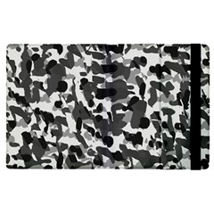 Grey Camo Apple Ipad Pro 9 7   Flip Case by snowwhitegirl