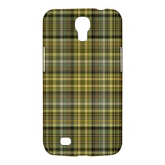 Yellow Plaid Samsung Galaxy Mega 6 3  I9200 Hardshell Case by snowwhitegirl