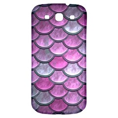 Pink Mermaid Scale Samsung Galaxy S3 S Iii Classic Hardshell Back Case by snowwhitegirl