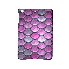 Pink Mermaid Scale Ipad Mini 2 Hardshell Cases by snowwhitegirl