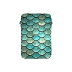 Aqua Mermaid Scale Apple Ipad Mini Protective Soft Cases by snowwhitegirl