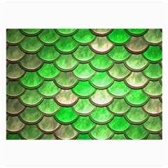 Green Mermaid Scale Large Glasses Cloth (2-side)
