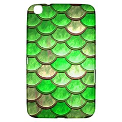 Green Mermaid Scale Samsung Galaxy Tab 3 (8 ) T3100 Hardshell Case  by snowwhitegirl