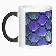 Blue Purple Mermaid Scale Morph Mugs by snowwhitegirl