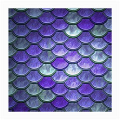 Blue Purple Mermaid Scale Medium Glasses Cloth (2 Side) by snowwhitegirl