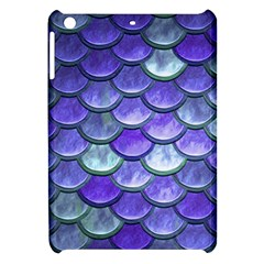 Blue Purple Mermaid Scale Apple Ipad Mini Hardshell Case by snowwhitegirl