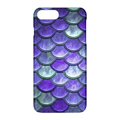 Blue Purple Mermaid Scale Apple Iphone 8 Plus Hardshell Case by snowwhitegirl