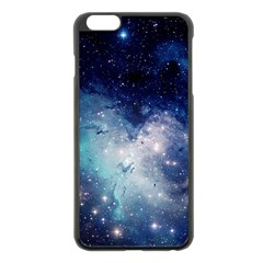 Nebula Blue Apple Iphone 6 Plus/6s Plus Black Enamel Case by snowwhitegirl