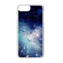 Nebula Blue Apple Iphone 8 Plus Seamless Case (white) by snowwhitegirl