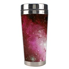 Nebula Red Stainless Steel Travel Tumblers by snowwhitegirl