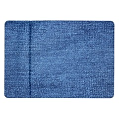 Blue Denim Samsung Galaxy Tab 10 1  P7500 Flip Case by snowwhitegirl