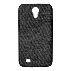 Black Denim Samsung Galaxy Mega 6 3  I9200 Hardshell Case by snowwhitegirl