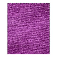 Purple Denim Shower Curtain 60  X 72  (medium)  by snowwhitegirl