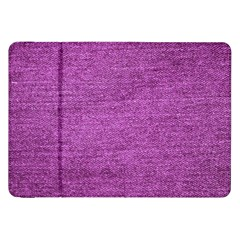 Purple Denim Samsung Galaxy Tab 8 9  P7300 Flip Case by snowwhitegirl