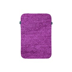 Purple Denim Apple Ipad Mini Protective Soft Cases by snowwhitegirl