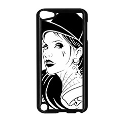Woman Wth Hat 720 Apple Ipod Touch 5 Case (black) by snowwhitegirl