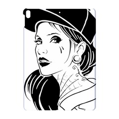 Woman Wth Hat 720 Apple Ipad Pro 10 5   Hardshell Case