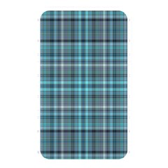 Teal Plaid Memory Card Reader (rectangular) by snowwhitegirl