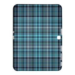 Teal Plaid Samsung Galaxy Tab 4 (10 1 ) Hardshell Case  by snowwhitegirl