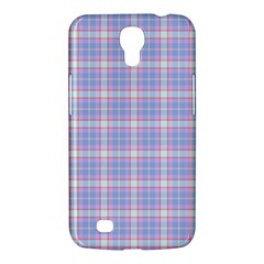 Pink Blue Plaid Samsung Galaxy Mega 6 3  I9200 Hardshell Case by snowwhitegirl