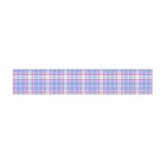 Pink Blue Plaid Flano Scarf (mini) by snowwhitegirl