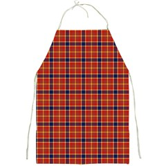Red Yellow Plaid Full Print Aprons by snowwhitegirl