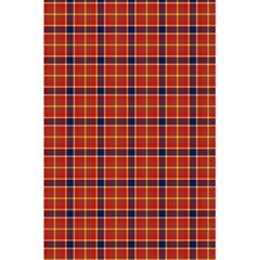 Red Yellow Plaid 5 5  X 8 5  Notebook by snowwhitegirl