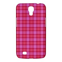 Valentine Pink Red Plaid Samsung Galaxy Mega 6 3  I9200 Hardshell Case by snowwhitegirl