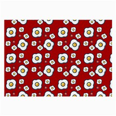 Eggs Red Large Glasses Cloth (2-side)