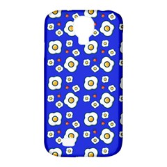 Eggs Blue Samsung Galaxy S4 Classic Hardshell Case (pc+silicone) by snowwhitegirl