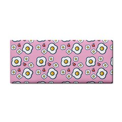 Eggs Pink Hand Towel by snowwhitegirl