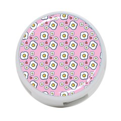 Eggs Pink 4 Port Usb Hub (one Side) by snowwhitegirl