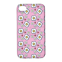 Eggs Pink Apple Iphone 4/4s Hardshell Case With Stand by snowwhitegirl