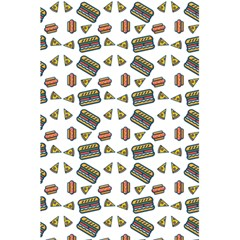 Fast Food White 5 5  X 8 5  Notebook by snowwhitegirl