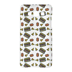 Fast Food White Samsung Galaxy A5 Hardshell Case  by snowwhitegirl