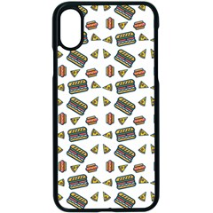 Fast Food White Apple Iphone X Seamless Case (black) by snowwhitegirl